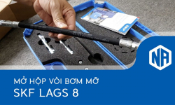 Mở hộp vòi bơm mỡ SKF LAGS 8 (Grease nozzles)
